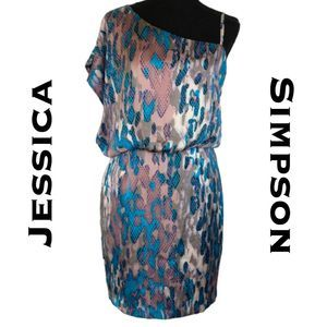 Jessica Simpson Asymmetrical Dress Size 4
